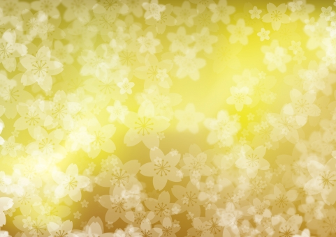 春 4月 桜 入学式 進学 フレーム お祝い 卒業 キラキラ 淡い 背景 バック テクスチャー 和柄 装飾 桜吹雪 花柄 和風 輝き 光 お花見 背景素材 さくら 花びら 和 パステル 金 ゴールド 黄金 秋