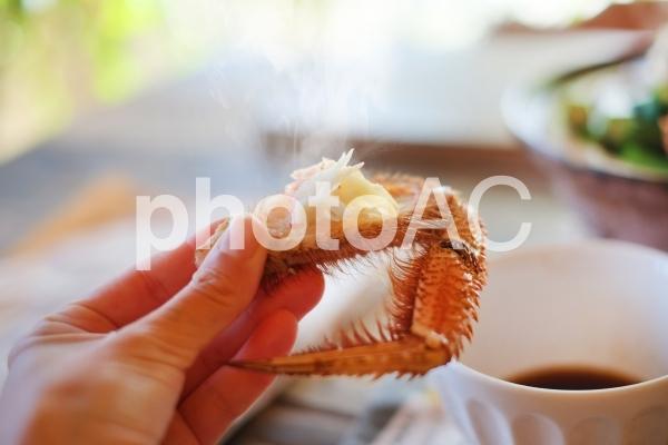 毛ガニ鍋の写真