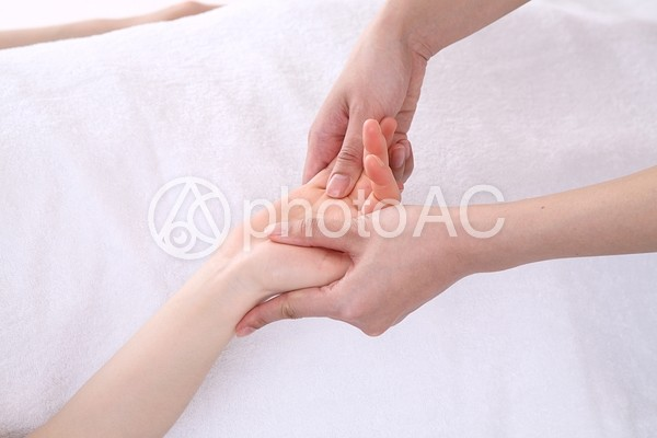 ボディマッサージ(手・腕)2の写真