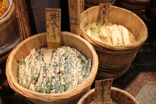 ぬか漬け たる ぬか 漬物 日本 japan tsukemono キュウリ きゅうりの漬物 大根の漬物 和食 和 和風 大根