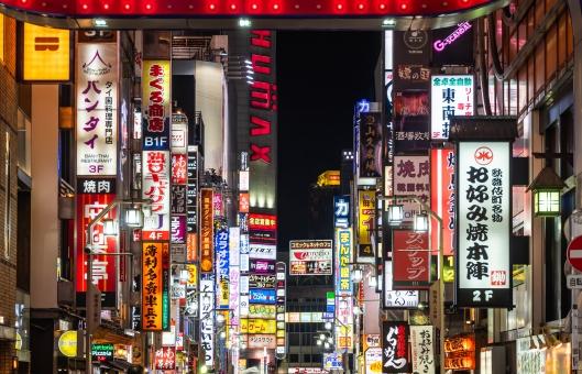 新宿 歌舞伎町の写真