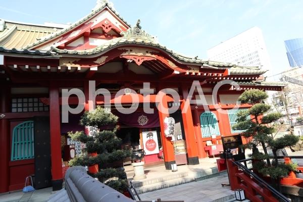 上野 摩利支天の写真