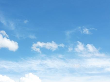 夏の青空3の写真