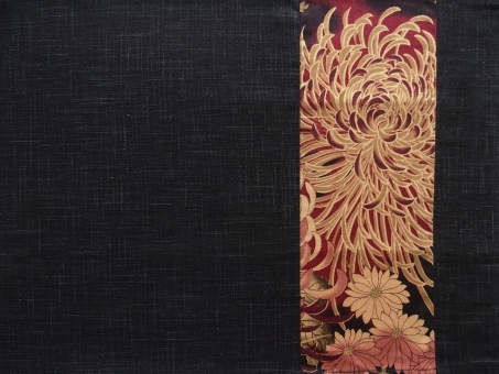 和風柄 ランチョンマット 布 生地 背景 素材 菊 テクスチャ 模様 日本 和柄 バック