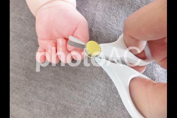 赤ちゃん用の爪切り 5の写真