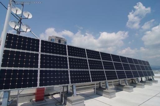 太陽電池 太陽光発電 ソーラーパネル 再生可能エネルギー 自家発電 電気 自然エネルギー 太陽 発電 シャープ 節電