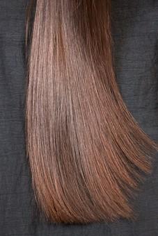 屋内 室内 外国人 人物 人 人間 大人 女性 女 20代 若い ロングヘア ヘアケア 頭 髪 茶髪  健康 ツヤツヤ サラサラ 美容 長髪 髪の毛  毛先 美しい 綺麗 1人 ストレートヘア