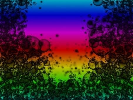 影 かげ 陰 シャドウ シャドー 虹色 にじ レインボー レインボーカラー 虹 背景 黒 ブラック シャボン玉 しゃぼん玉 影絵 不思議 世界 遠近 素敵 変わった ごちゃごちゃ 派手 モノクロ ダーク 暗い 明るい かっこいい 可愛い 好き 嫌い 虹の日