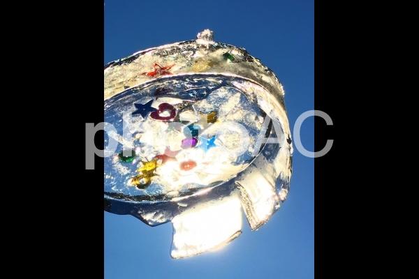氷アートの写真