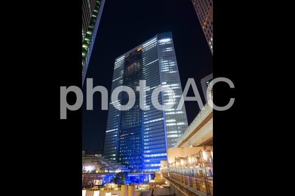 汐留 電通本社ビルの写真