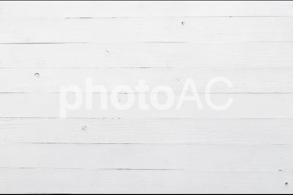 白い板壁の写真