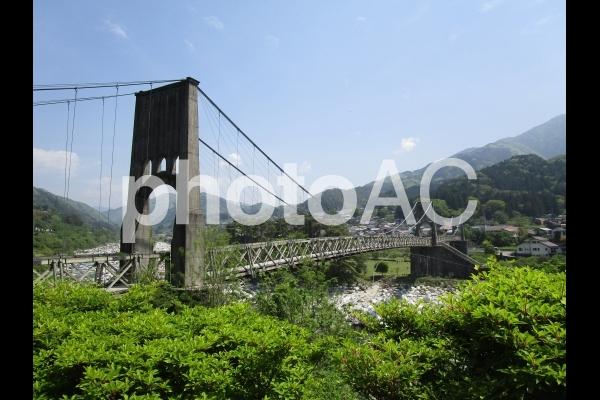 桃介橋の写真