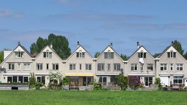 外国の家 海外の家 タウンハウス テラス 田舎 外国 テラスハウス 住 外観 マイホーム 我が家