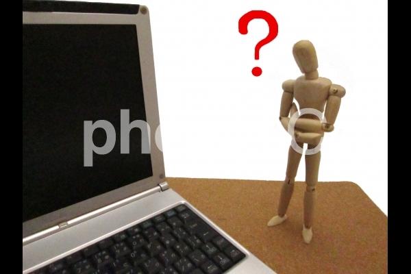 パソコンが難しいイメージの写真