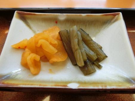 和食 漬け物 お新香 食べ物 野菜 漬物 つけもの 漬けもの つけ物 香の物 皿 小皿