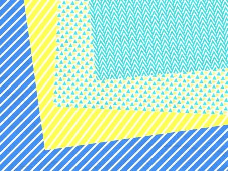 背景 紙 テクスチャ テクスチャー ストライプ 斜線 斜めストライプ 青 ブルー 黄色 カラフル かわいい ガーリー 北欧