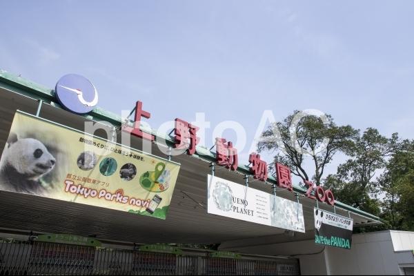 上野動物園の表門の写真
