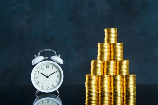 時間とお金の写真