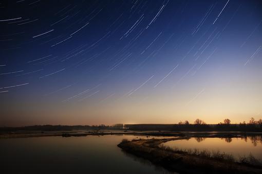 満天の星空7の写真