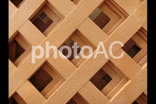 ラティスフェンスの写真