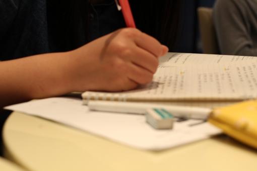 受験勉強 テスト勉強 勉強 ノート 学生 カフェ 自習 宿題