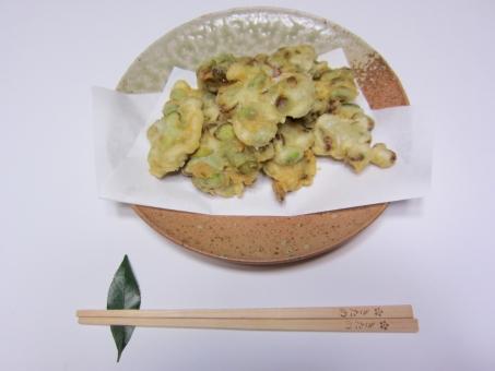 枝豆 青豆 天ぷら 好物 塩味 寄せ揚げ 食べ物 簡単レシピ