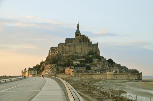 Mont-Saint Michel ラプンツェル フランス モンサンミッシェル 城 海外