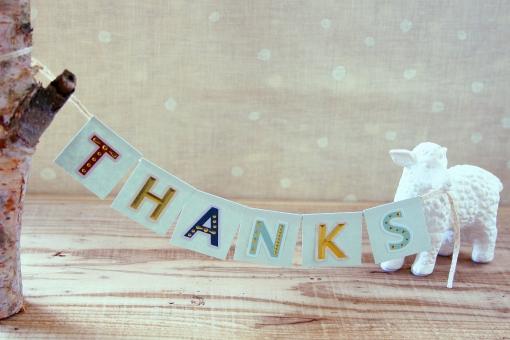 ありがとう 感謝 メッセージ 挨拶 一言 伝言 気持ち お礼 アルファベット 英文字 英単語 単語 ひつじ 動物 シラカバ 白樺 しらかば