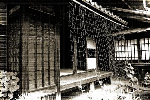 旧家 古民家 屋敷 家屋 木造家屋 木造建築 木造住宅 家 レトロ 日本建築 和様建築 建物 建造物 構造物 建築物 歴史 文化財 風景 景色 自然 緑 草木 植物 閑静 樹木 草花 名所 名跡 史跡 旧跡
