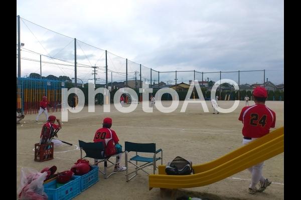 ソフトボール大会の写真
