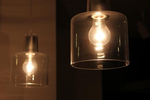 ペンダントライト 電器 電気 ランプ 夜 照明器具 電機 明かり 灯火 インテリア レトロ ガラス 部屋 アンティーク