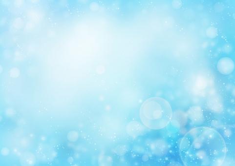 背景 背景素材 テクスチャ 空 青空 水 水しぶき 太陽 光 輝き 夏 真夏 海 海辺 波 波しぶき フレア きらめき キラキラ きらきら 太陽光 爽やか 丸 円 青 水色 ブルー ファンタジー 自然