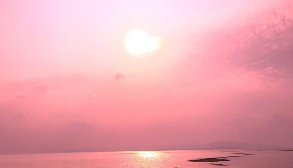 沖縄 竹富島 おきなわ okinawa 夕陽 トワイライト 黄昏 海 太陽 てぃだ