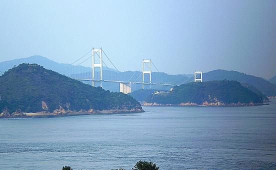 しまなみ海道 橋 海 瀬戸内海 島 四国 中国地方 しまなみ 瀬戸内