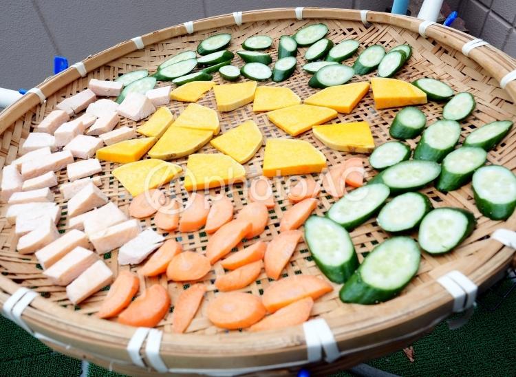 干し野菜の写真