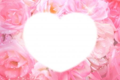 薔薇 バラ ピンク キラキラ フレーム ハート ♡ 愛 love 春 花壇 可愛い 楽しい 花束 優しい 愛情 公園 春色 白 花 カラフル ガーリー パステルカラー 背景素材 背景 お花畑 テキスト テキストスペース コピースペース メッセージ メッセージカード カード バースデーカード ハッピーバースデー お祝い happy birthday おめでとう 入学 卒業