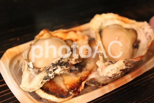 焼牡蠣の写真