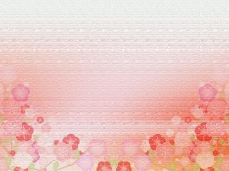 梅 うめ ウメ 春 正月 年賀状 梅の花 絹 衣 布 梅の背景 背景 風景 和風 和 年賀 花 雛祭り ひなまつり ひな祭り 年賀状素材 元旦 年賀ハガキ 年賀状はがき 元旦素材 松竹梅