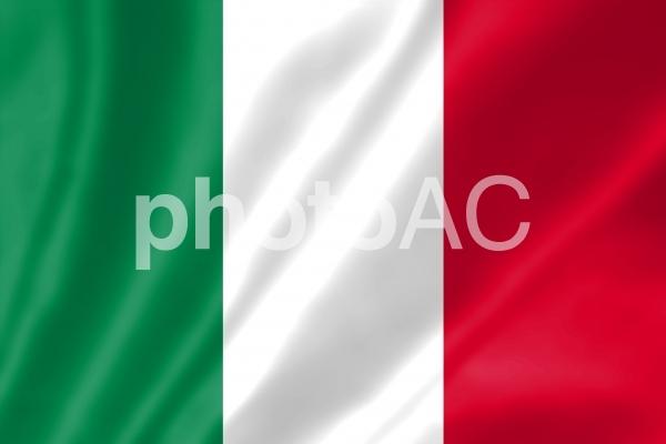 イタリア国旗の写真