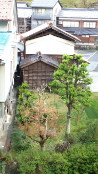 日本 古式 和風 和式 木造 倉庫 昔 古
