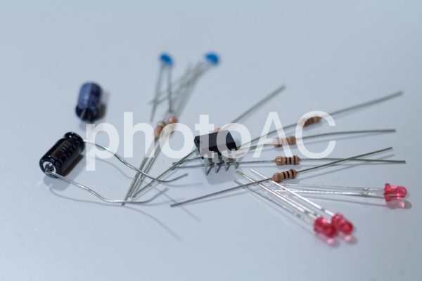 電子部品の写真