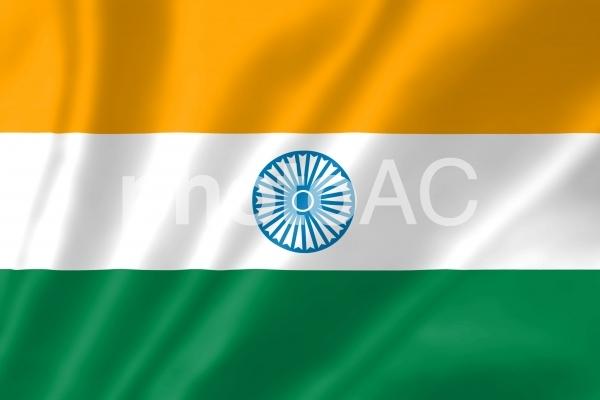 インド国旗の写真
