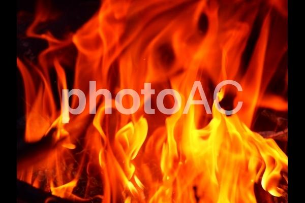 火炎の写真