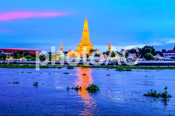 【タイ】バンコクにあるワット・アルンの写真