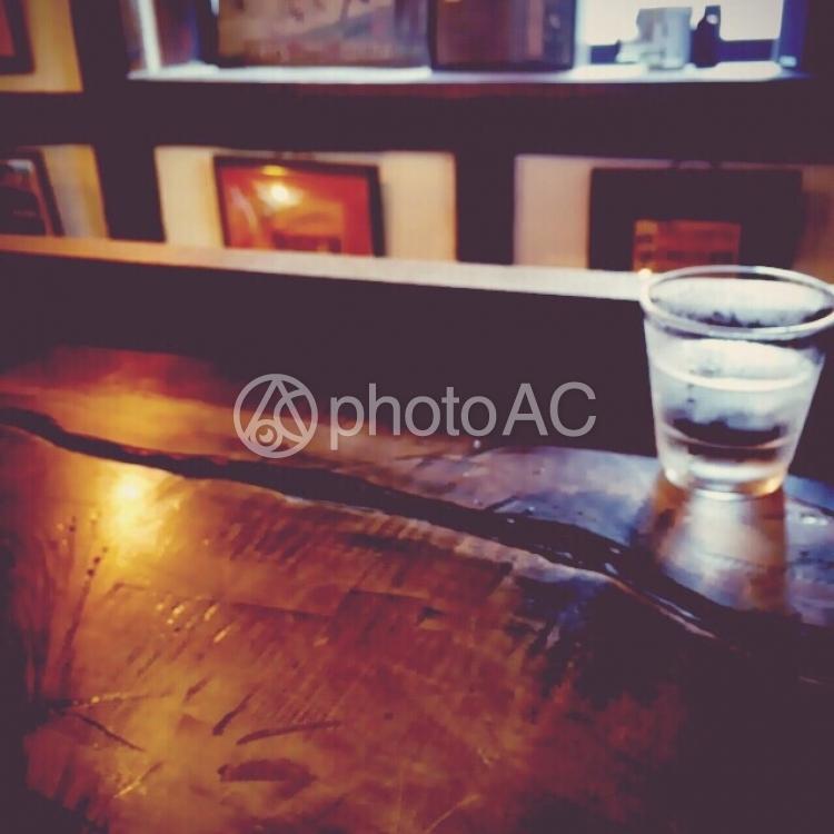 木調の素敵カフェの写真