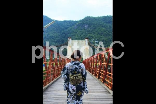 吊り橋の写真