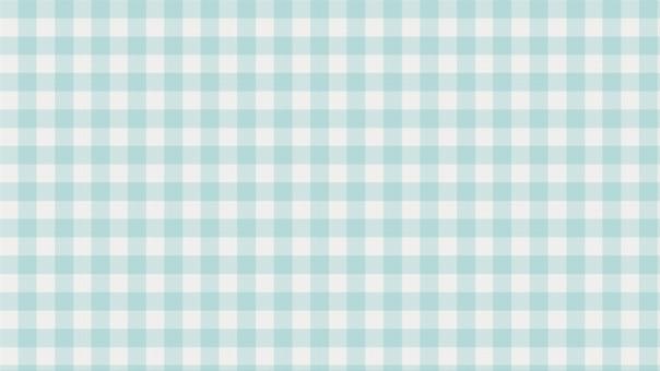 布 柄布 ハンカチ ファブリック ファイバー 繊維 柔らかい テクスチャー 背景 背景画像 チェック ギンガムチェック 格子 格子模様 染色 染め布 水色 シアン 青緑 浅葱 パステルカラー