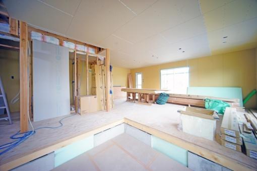 家内装工事の写真