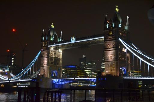 ロンドン イギリス 橋 ロンドンタワー 夜景 夜