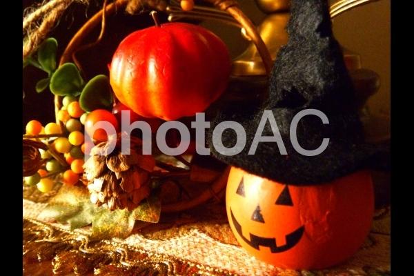 ハロウィン飾りの写真